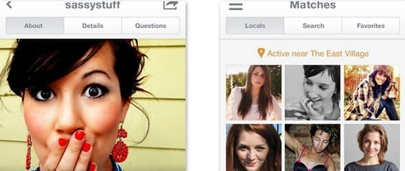 Photo of OkCupid's app
