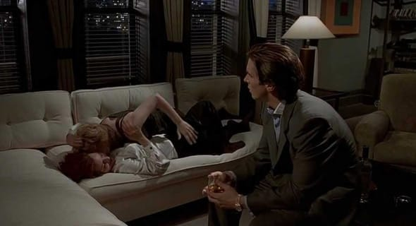 Photo of American Psycho threesome