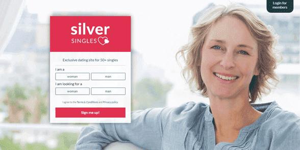Photo of SilverSingles' app