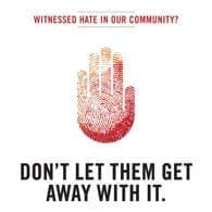 Photo of Stonewall's Don't Be a Bystander Campaign