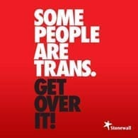 The Stonewall Fight for Trans People Campaign Logo