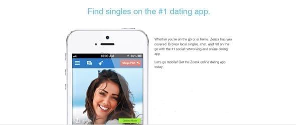 Photo of Zoosk's app