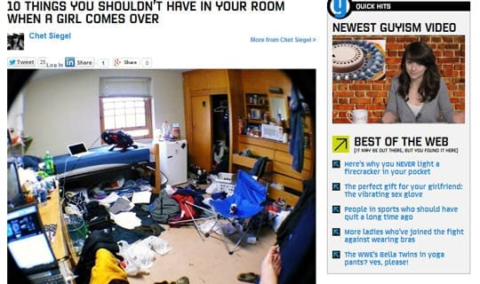 Keep your room clean