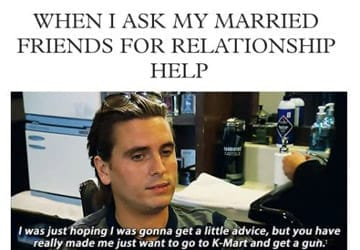 What about your married friends?