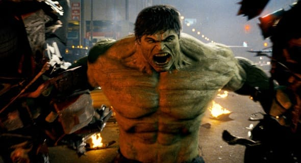 Photo of angry Hulk