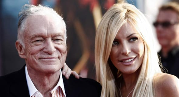 Photo of Hugh Hefner and Crystal Harris