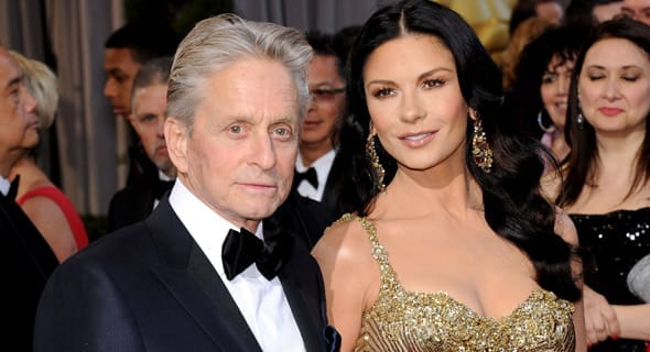 Photo of Catherine Zeta Jones and Michael Douglas