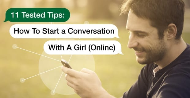 How to start online conversation with girl