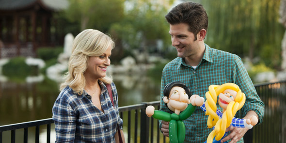 Photo of Leslie and Ben From Parks and Rec