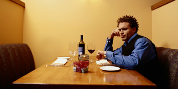 Photo of Man Waiting on Date