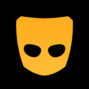 Photo of the Grindr logo