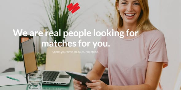 Screenshot of DatingRing.com homepage
