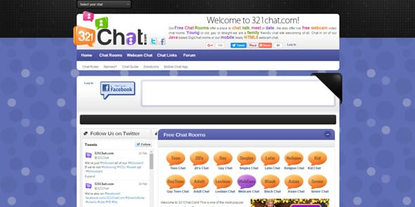 Screenshot of 321Chat