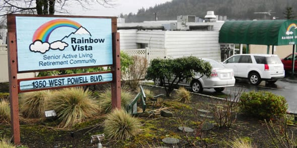 Photo of Rainbow Vista, a gay retirement community