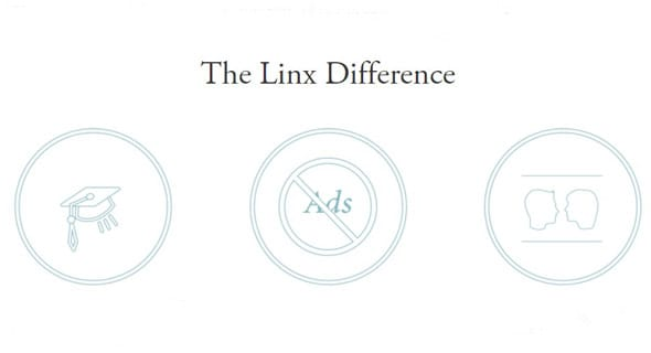 Screenshot of The Linx Difference in Matchmaking