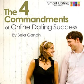 "Cover of ""The 4 Commandments of Online Dating Success"""
