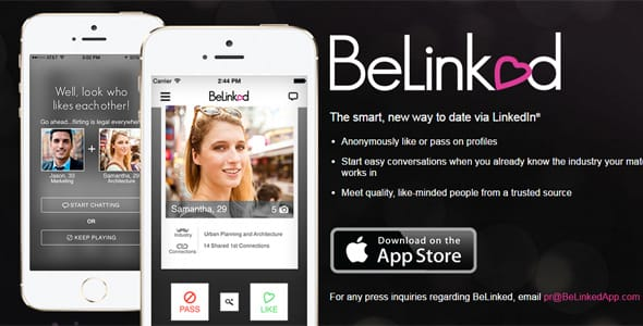 How BeLinked works screenshot
