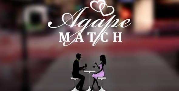 Photo of the Agape Match logo