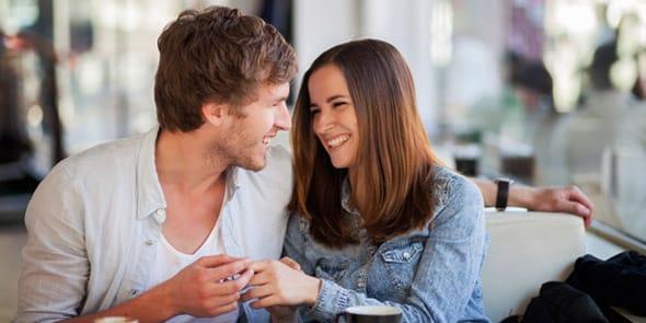 Photo of a man flirting with body language