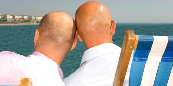 Photo of a gay cruise