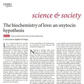 "Photo of ""The Biochemistry of Love: An Oxytocin Hypothesis"""