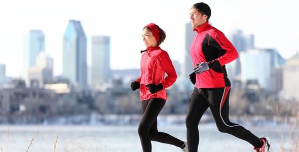 Photo of people running