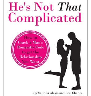 "A photo of the ""He's Not That Complicated"" book"