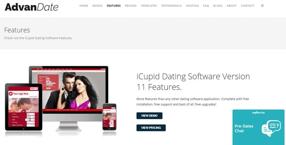 Dating site software sale
