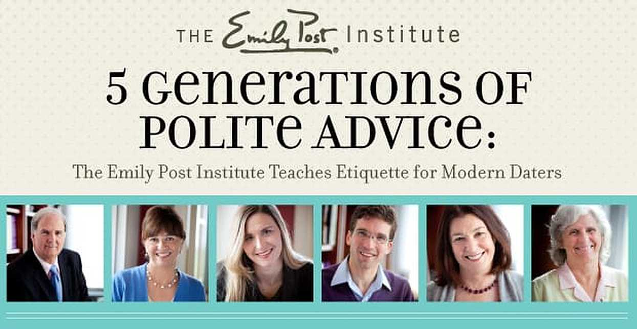 5 Generations of Polite Advice: The Emily Post Institute