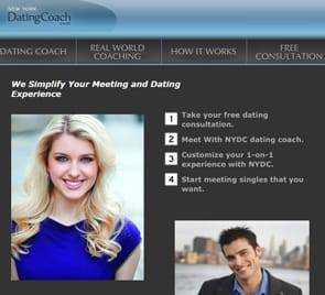 Screenshot of NYDC coaching page