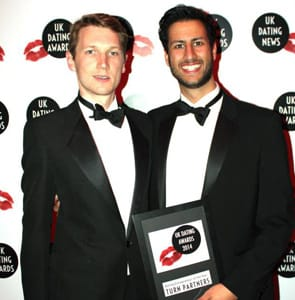 Photo of James Varday and Mike Bandar, Directors of Toyboy Warehouse