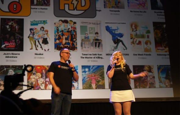 Photo of Crunchyroll at Anime Boston