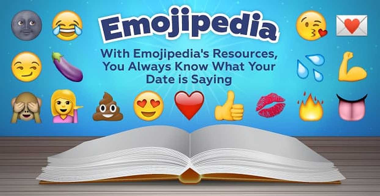 🚫💑😕! With the Resources at Emojipedia, You'll Always Know What Your Date is Saying