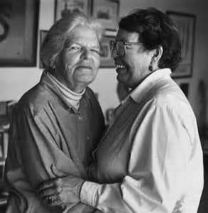 Photo of Del Martin and Phyllis Lyon
