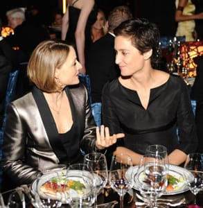 Photo of Jodie Foster and Alex Hedison