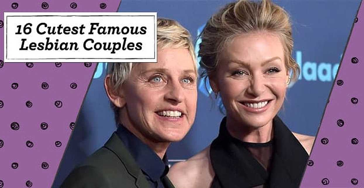 16 Cutest Famous Lesbian Couples Of All Time