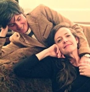 Photo of Tig Notaro with her wife, Stephanie Allynne