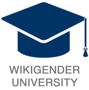Photo of the Wikigender University logo