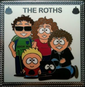Photo of Bryan Roth's personalized geocoin