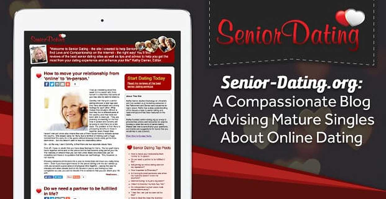Senior-Dating.org: A Compassionate Blog Advising Mature Singles About Online Dating
