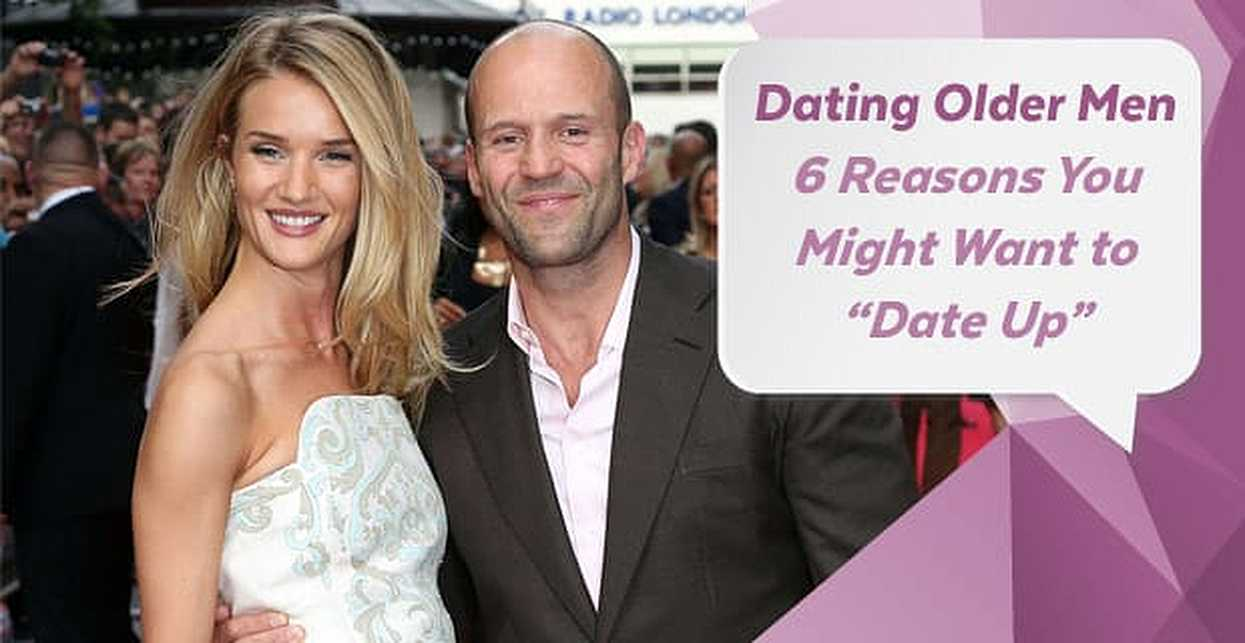 "Dating Older Men — 6 Reasons You Might Want to ""Date Up"""