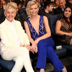 Photo of Ellen and Portia