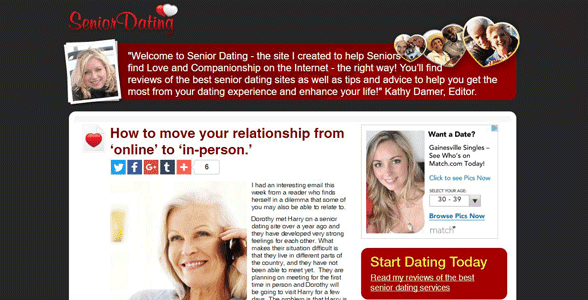Senior dating services best