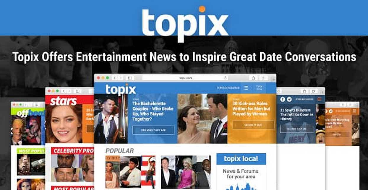 Topix Offers Entertainment News to Inspire Great Date Conversations & Activities