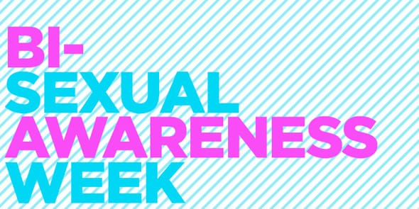 Photo of the Bisexual Awareness Week banner