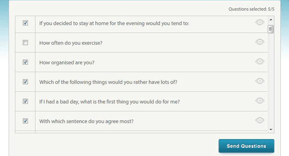 Eharmony guided communication questions