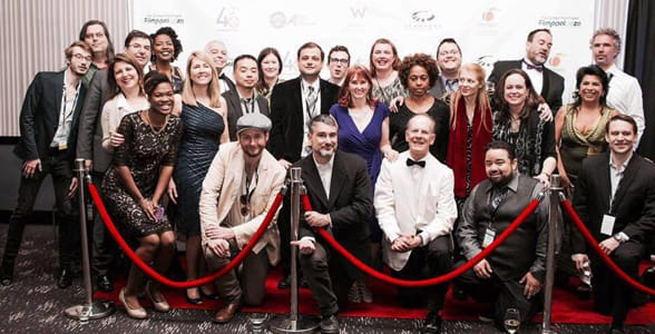 Photo of 48HFP's City Producers at Filmapalooza