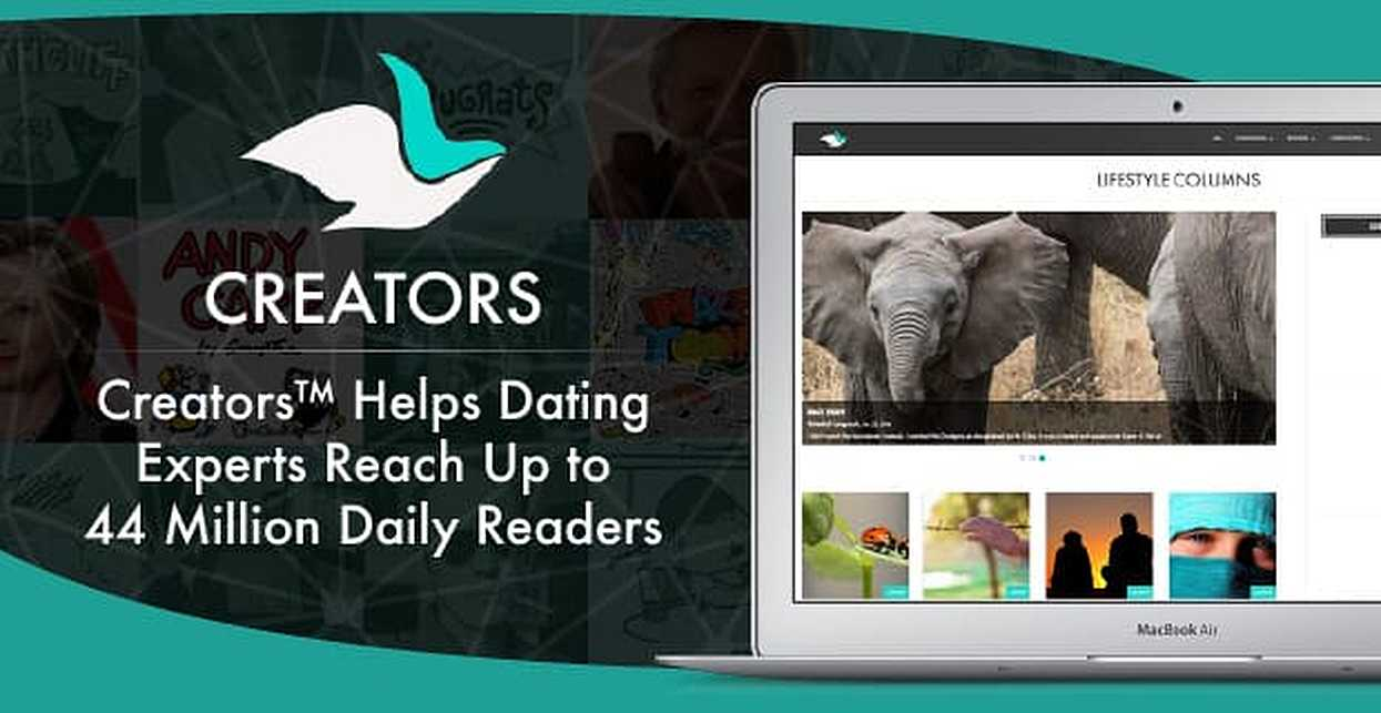 Content Syndication Through Creators™ Helps Dating Experts Reach Up to 44 Million Daily Readers
