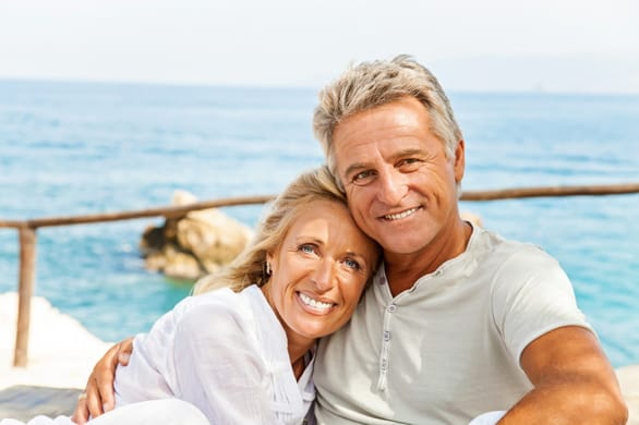 Photo of a happy mature couple