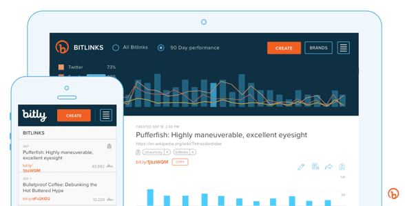 Bitly screenshot